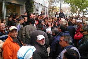 protesta argentina san juan