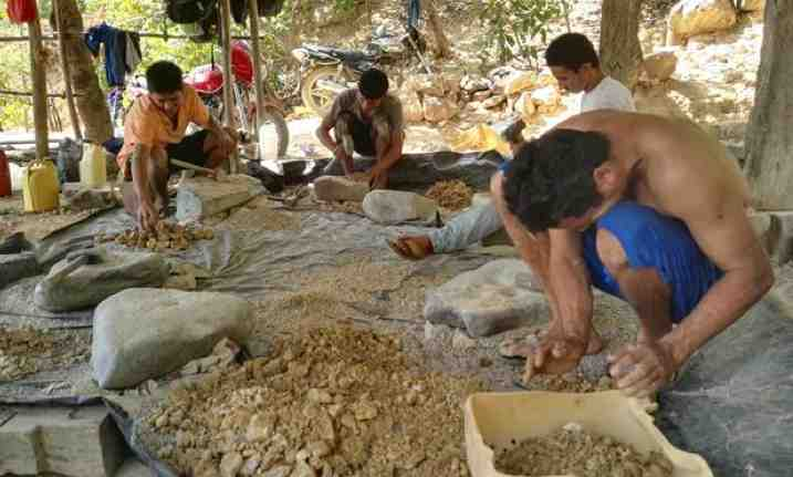 mineria oro artesanal