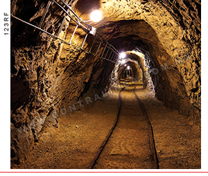 minas subterraneo
