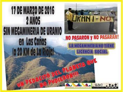 La Rioja son mineria de uranio