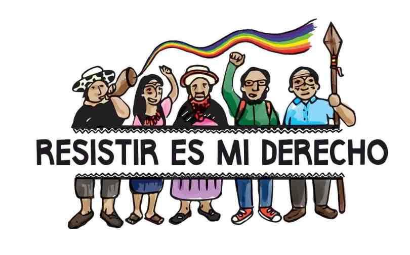 resistir es mi derecho