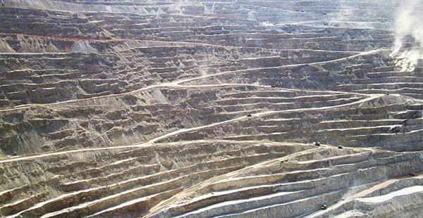 mineria open pit