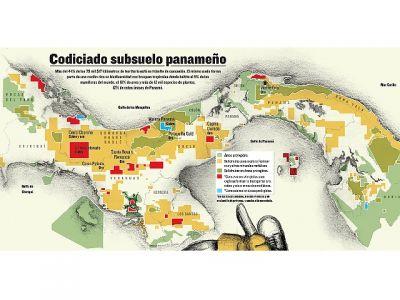 codiciado suelo panameno