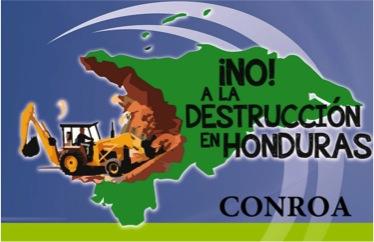 No a la destruccion CONROA