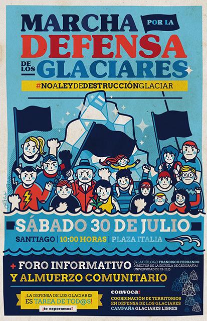 marcha glaciares0
