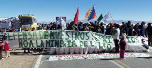 No a la mineria de Litio, Argentina