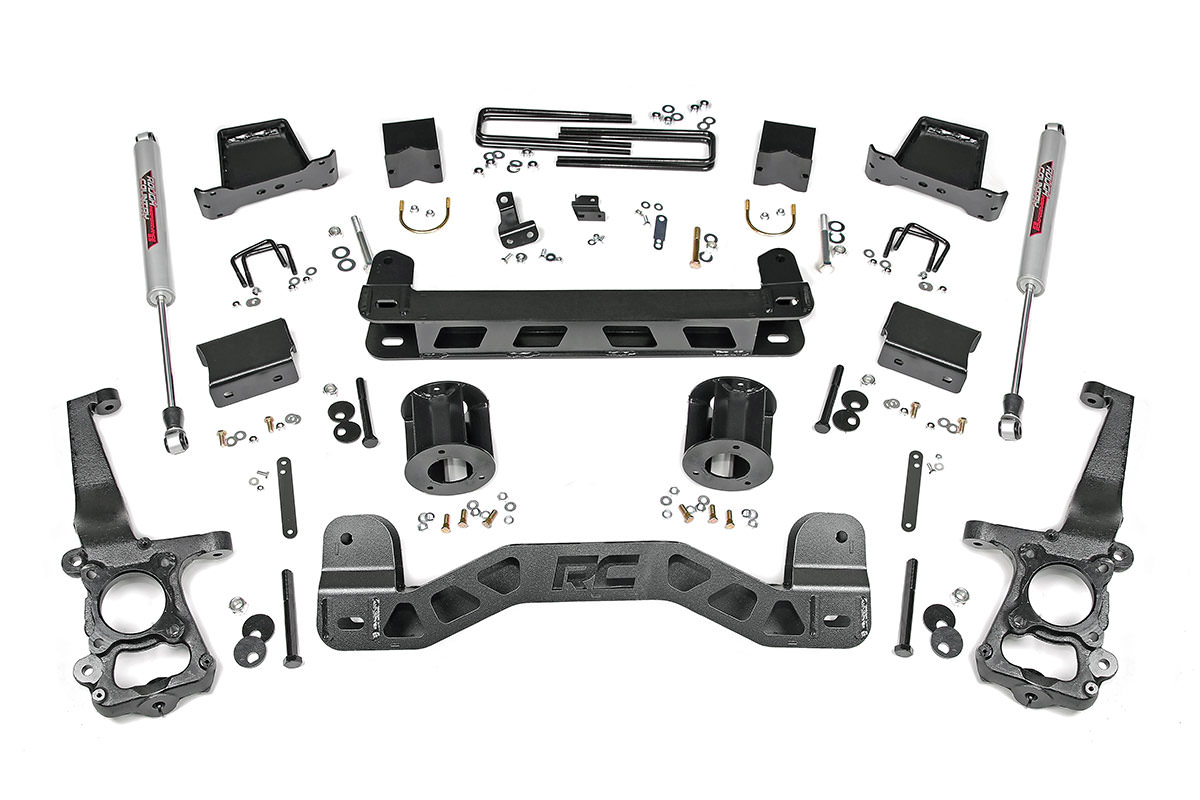 6 Inch 4 Link Suspension Lift Kit Fits Ford 05 07 F250