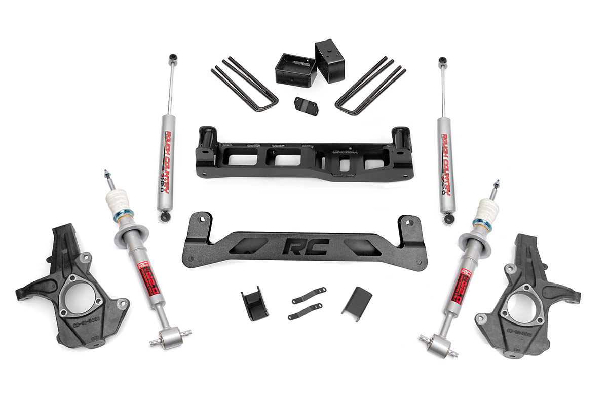 5 Inch Suspension Lift Kit Fits Chevrolet 07 13
