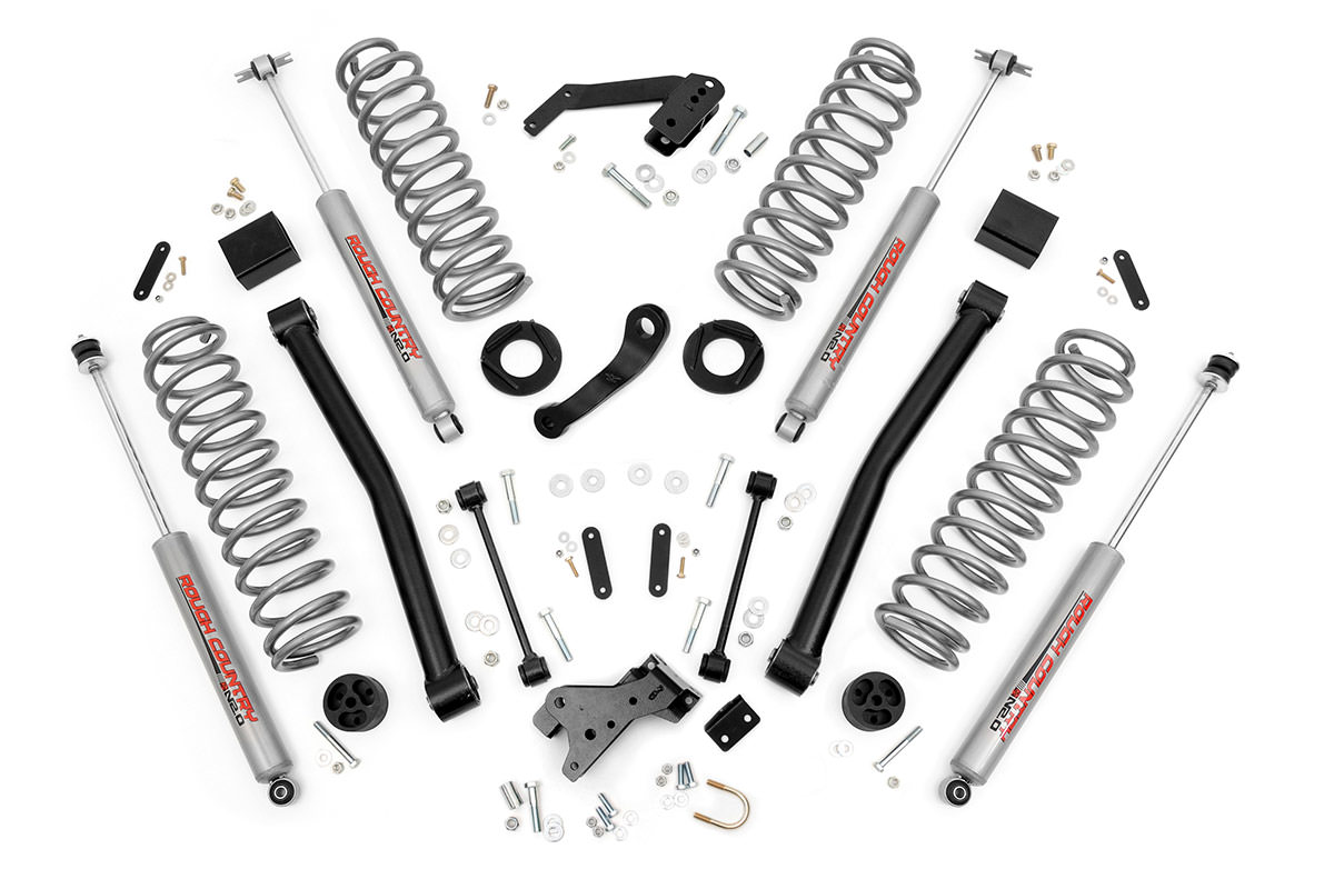 3 25 Inch Suspension Lift System Fits Jeep 97 02