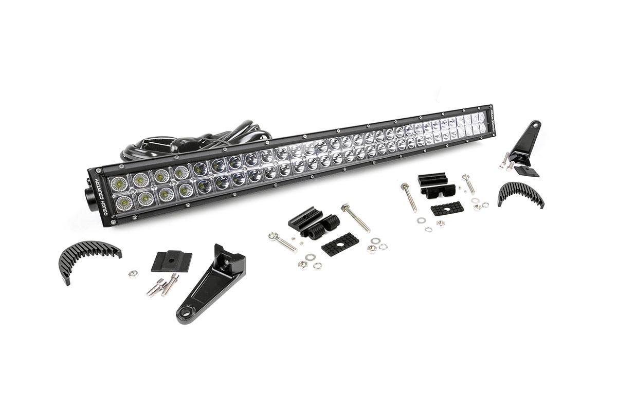 30 Inch Dual Row Chrome Series Cree Led Light Bar Fits