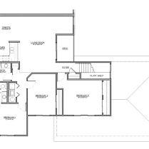 3 BR floor plan 2