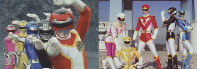 Turbo Rangers e Jetman