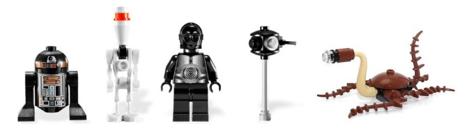 Death Star minifiguras excluidas