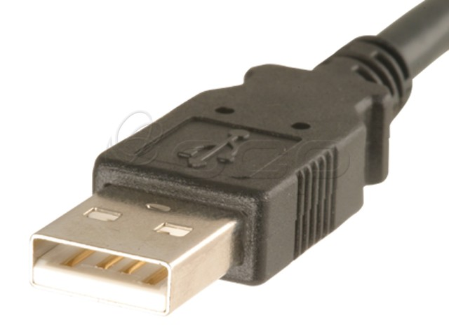 62-00129 - Panel Mount USB A Female to USB A Male