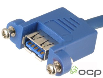 USB Panel Mount