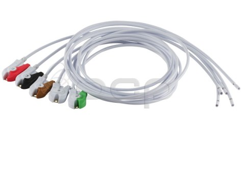 """5 Piece Cable Assembly Kit, 36"""" Length, Blunt Cut, AHA Coded"""