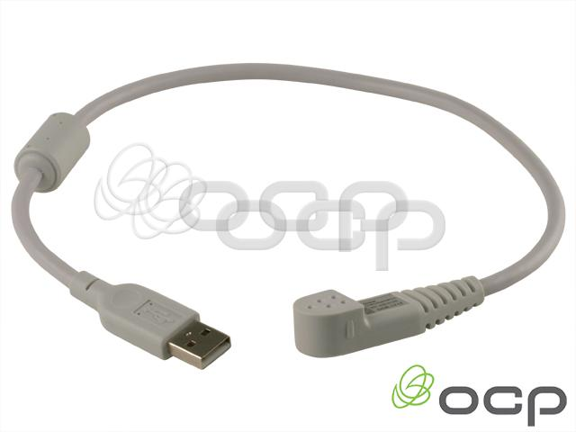 Custom 2mm Socket ECG Molded Cable