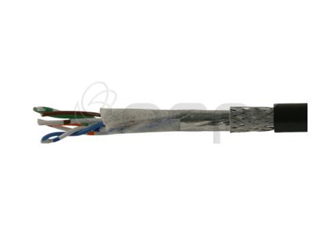 GigE Vision Ethernet, High Flex 2TP (4 x 24 AWG) Shielded, 80C