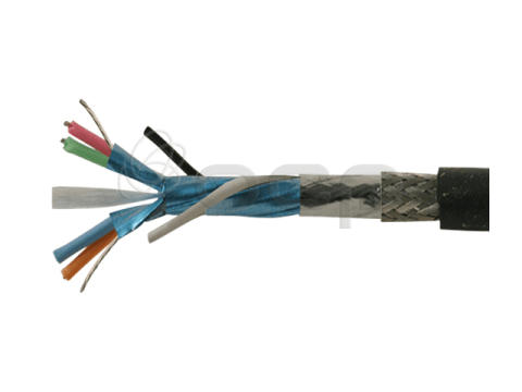 IEEE 1394, TP (26AWG) + 2C 22 AWG, Shielded, 80C