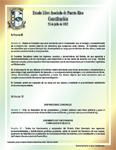 Extractos de Artículos de la Constitución del Estado Libre Asociado de Puerto Rico, Relacionados con la Función de la Contraloría (Afiche)