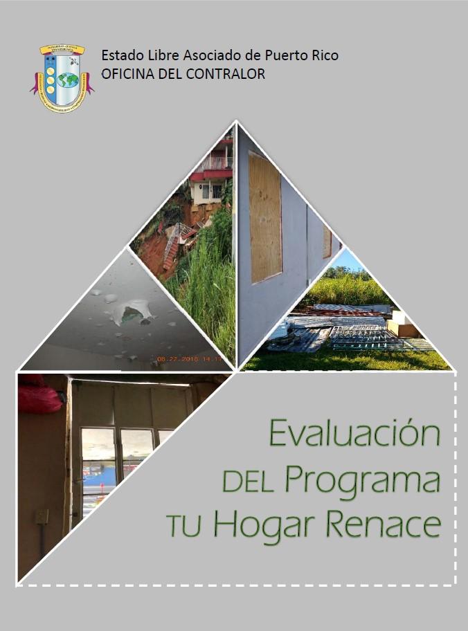 Resultado de evaluación del programa Tu Hogar Renace