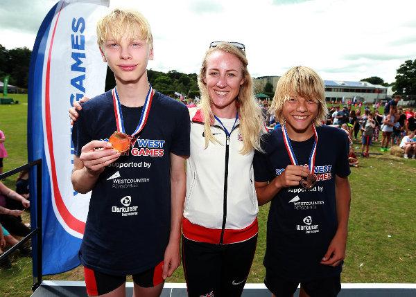 TRIATHLON WINNERS with OLYMPIAN Jemma Simpson