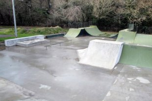 old skate park