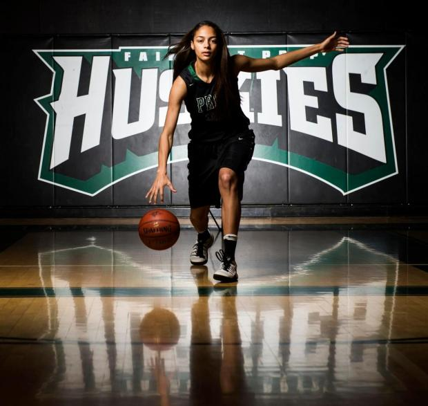 Fairmont Prep's Cierra Hall has been selected to the Register's All-County girls basketball team. (Photo by Kyusung Gong/Orange County Register/SCNG)