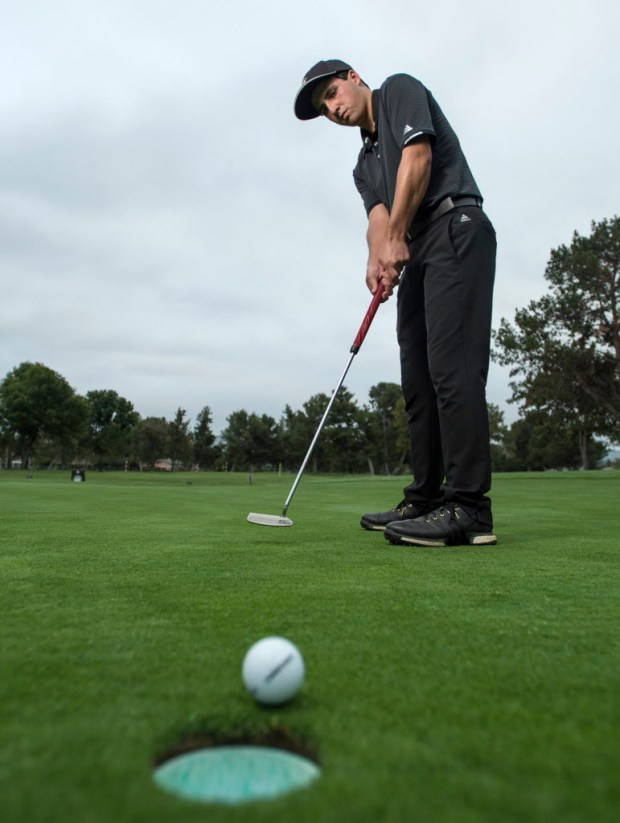 Servite's Kyle Kinnane is the Register's boys golfer of the year. (Photo by Kyusung Gong/Orange County Register/SCNG)