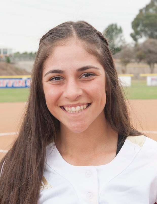 Register's All-County softball team member Ciara Briggs of Orange Lutheran, on Thursday, June 8, 2017. (Photo by Nick Agro, Orange County Register/SCNG)