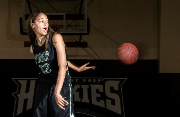 Fairmont Prep Academy's Cierra Hall is the small schools All County Girls Athlete of the Year. (Photo by Matt Masin, Orange County Register, SCNG)