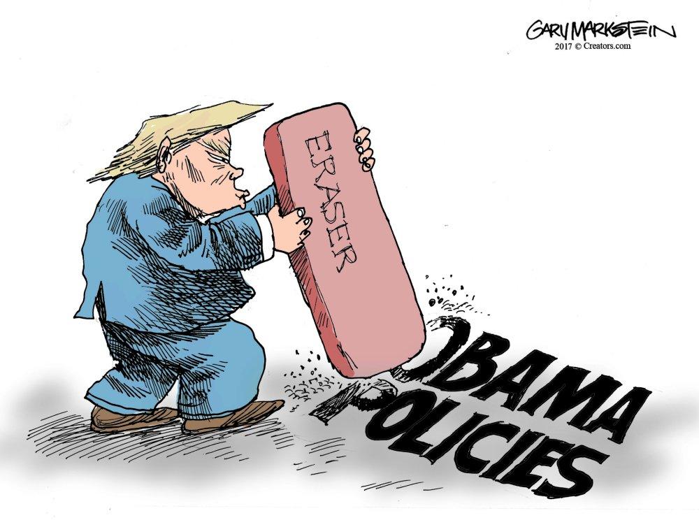 Trump eraser