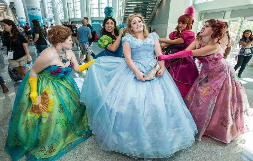 """There will be plenty of cosplay at the D23 Expo 2017 at the Anaheim Convention Center Friday afternoon. Photo by"""" MARK RIGHTMIRE, THE ORANGE COUNTY REGISTER"""