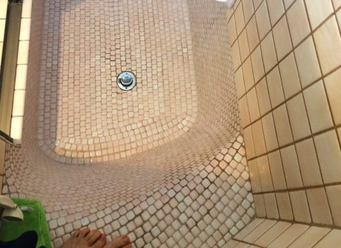 deteriorating tub tile grout can be