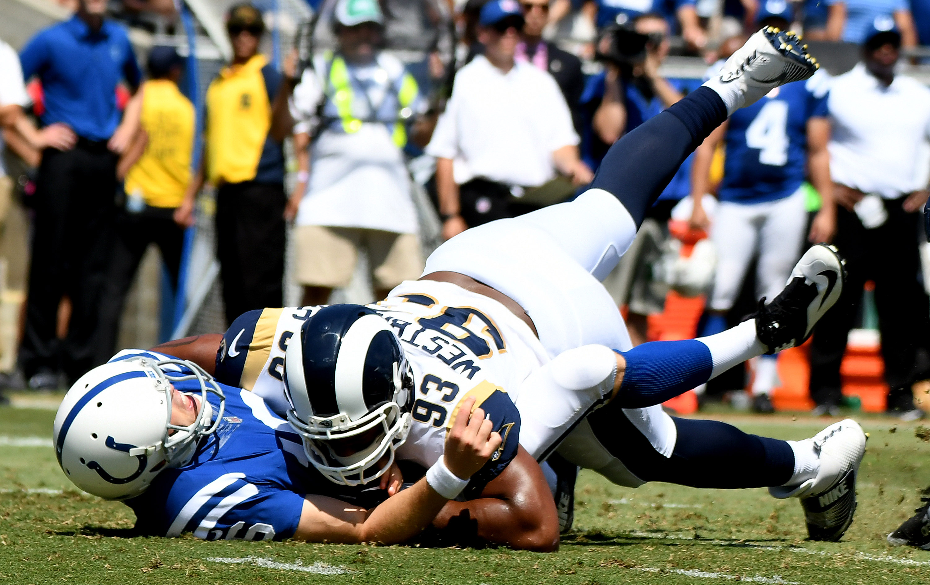 Image result for tolzien interception rams