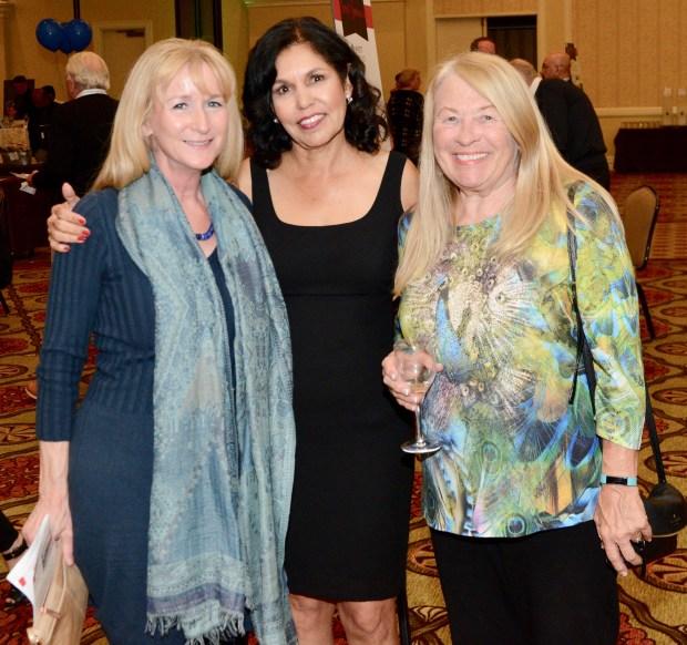 Darla Cauble, Elsa Greenfield and Carol McCune