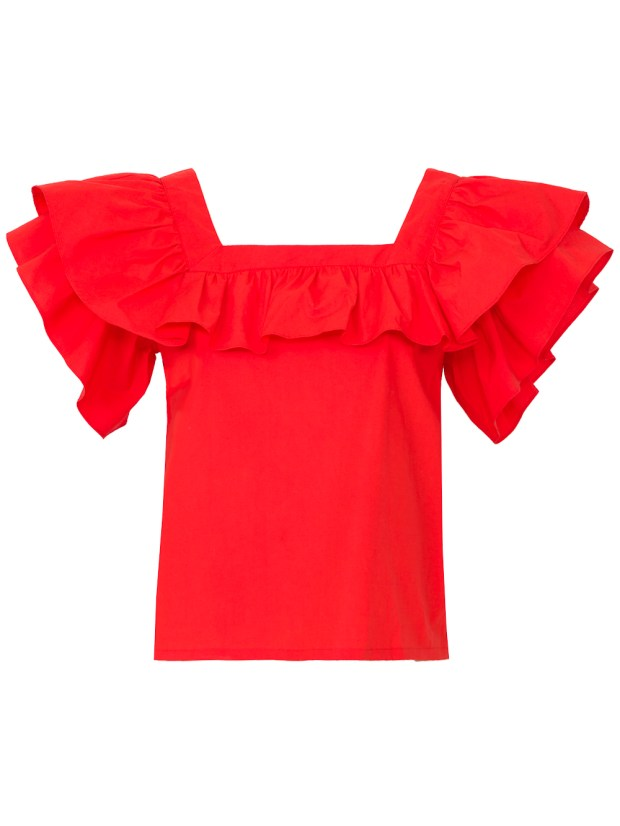 Vizcaya blouse by LHD available at The Webster, South Coast Plaza