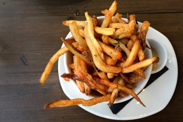 Skinny fries are made from scratch at Craft House in Dana Point. (Photo by Brad A. Johnson, Orange County Register/SCNG)