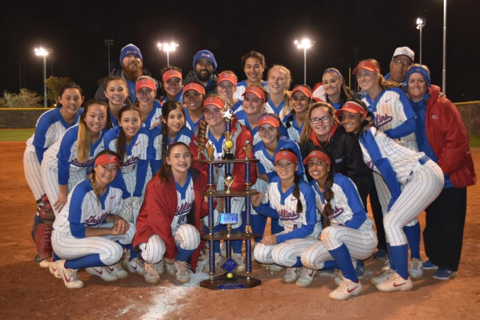 Griffin softball takes over top spot in OC