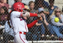 SOFTBALL:  Griffins win must-win games to finish in tie atop Surf league