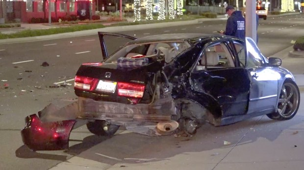Motorcyclist dies after slamming into car in Buena Park ...