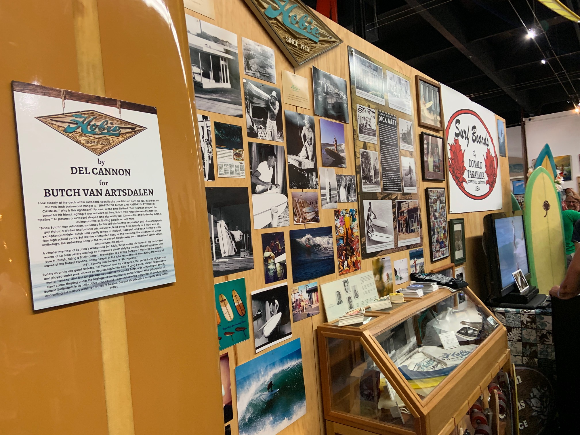 California's original surf shops, hangouts for surfers up and down the coast, are celebrated in 'Temples of Stoke' exhibit