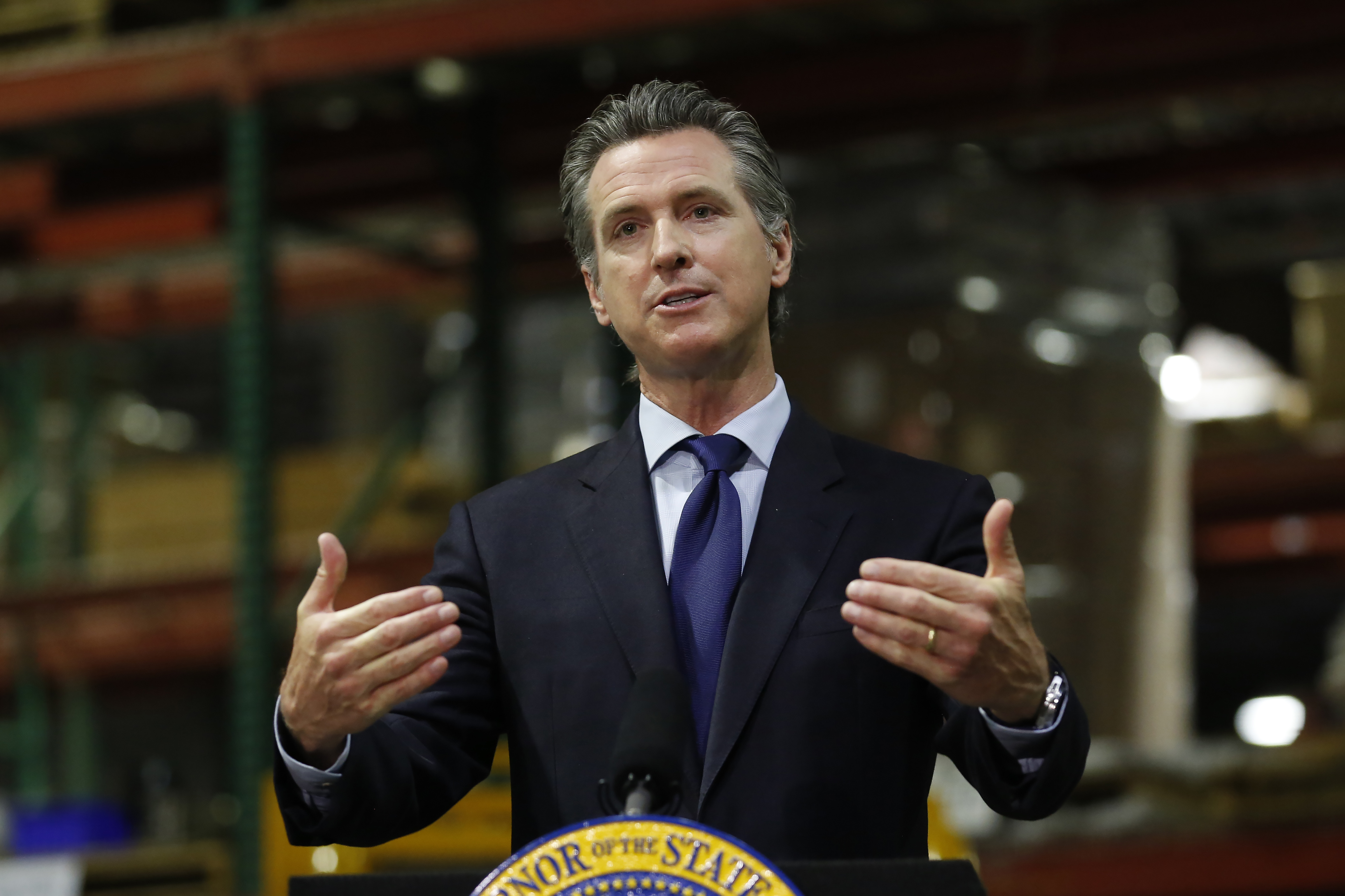 California governor on the hot seat over pandemic response