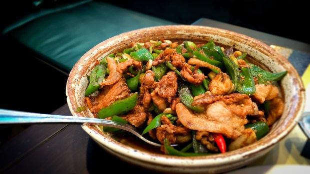 Country style pork at Meizhou Dongpo in Irvine (Photo by Brad A. Johnson, Orange County Register/SCNG)