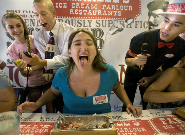 Farrell's ice cream contests lure fans – Orange County ...