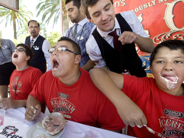 Farrell's ice cream contest in Brea attracts dessert ...