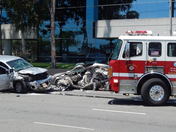 Elderly man killed in Buena Park car crash – Orange County ...