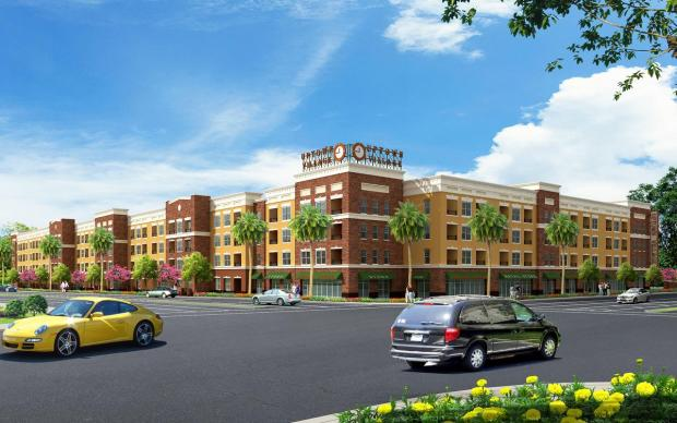 220 Apartments Replacing Call Center In Downtown Anaheim