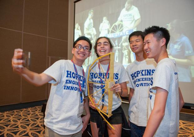 Photos — High school students excited to compete in ...