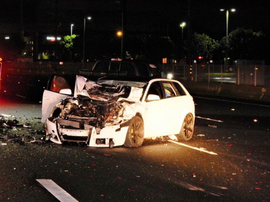 Man Dies In Multi Car Crash On 55 Freeway In Tustin Another Crash Injuries Follow Orange